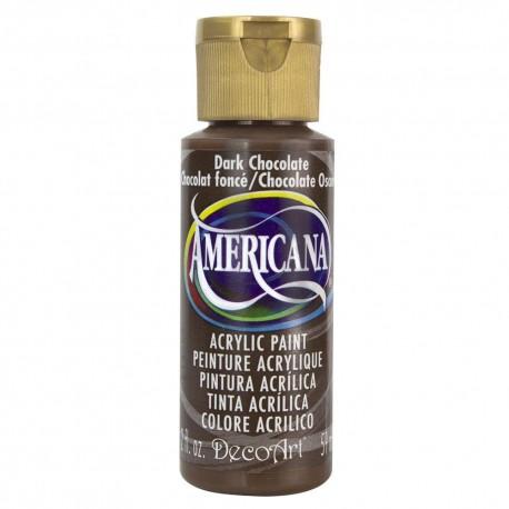 Colore acrilico DecoArt Americana Dark Chocolate