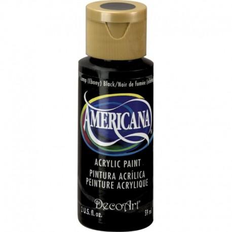 Colore acrilico DecoArt Americana Black