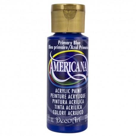 Colore acrilico DecoArt Americana Primary Blue