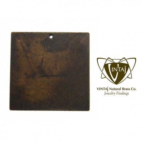 Vintaj Altered Metal Blank Square 29 mm