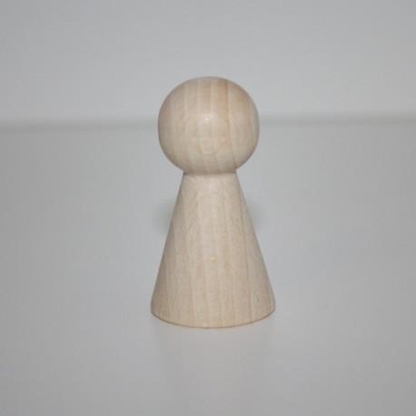Cono legno naturale 45x25 mm