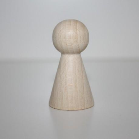 Cono legno naturale 60x31 mm