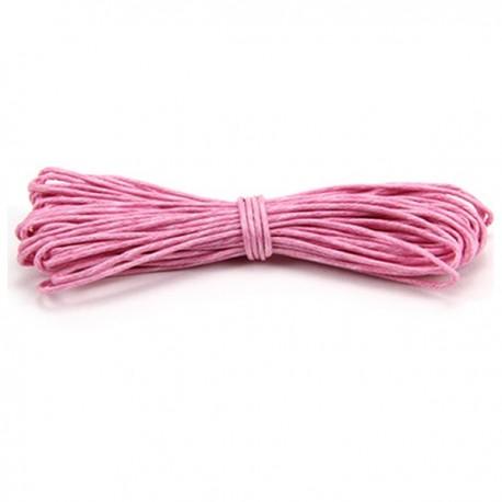 Filo cotone cerato rosa 5 m