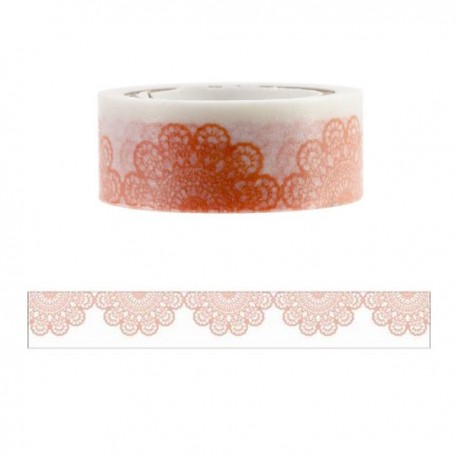 Washi tape half doily Kaisercraft 15 mm x 5 m