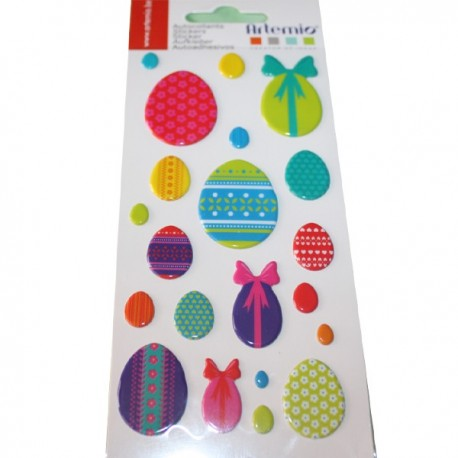 Stickers Puffies Easter Eggs