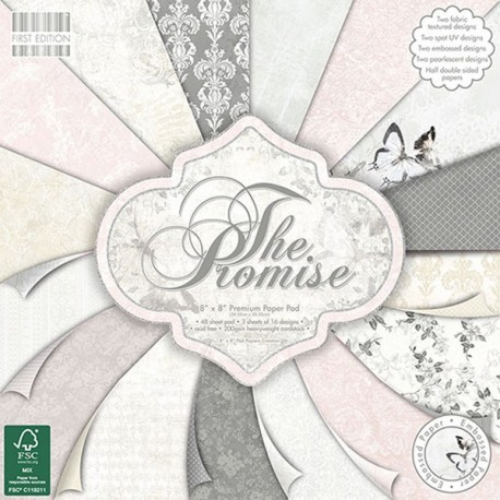 Kit Premium Pad The Promise First Edition 20x20cm