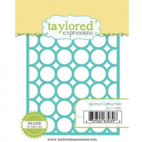 Taylored Expressions Spotted Cutting Plate