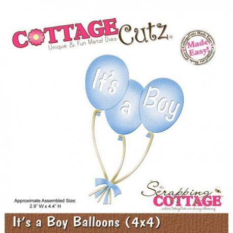 CottageCutz - It's A Boy Balloons