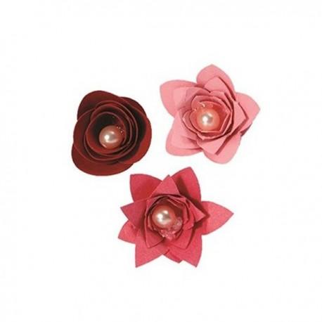 Bigz Die - 3 Flowers, 3-D 657822