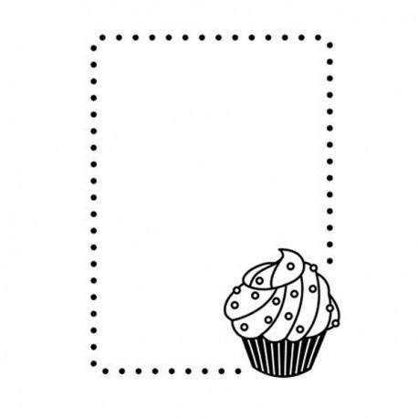 Fustella embossing Cupcake Corner Darice