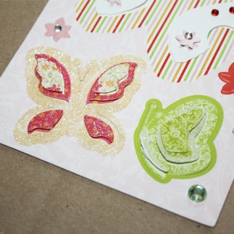 Garden Party 3D Stickers - Butterflies