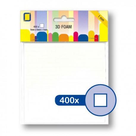 Glue Foam Squares 5x5x1 mm