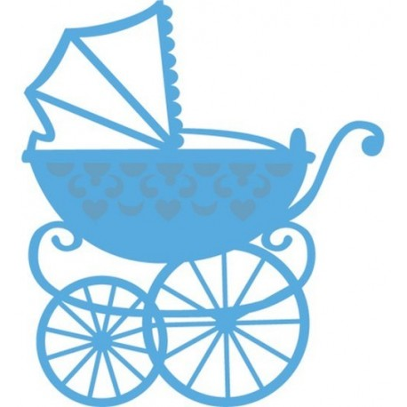 Creatables Baby Carriage Marianne Design