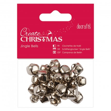 Campanelline argento Jingle Bells
