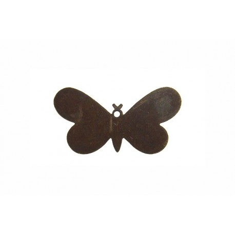 Vintaj Fairy Butterfly in ottone naturale