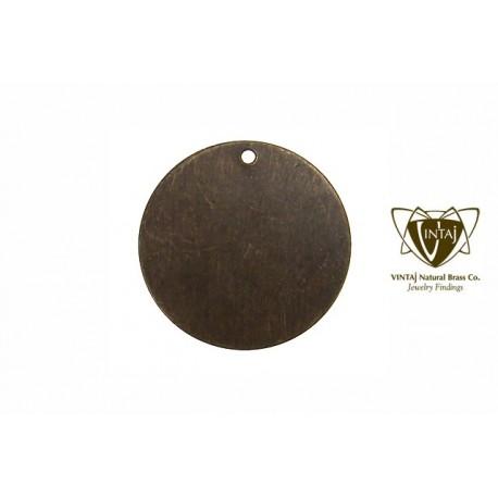 Vintaj Altered Metal Small Circle 25 mm