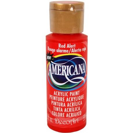 Colore acrilico DecoArt Americana Red Alert