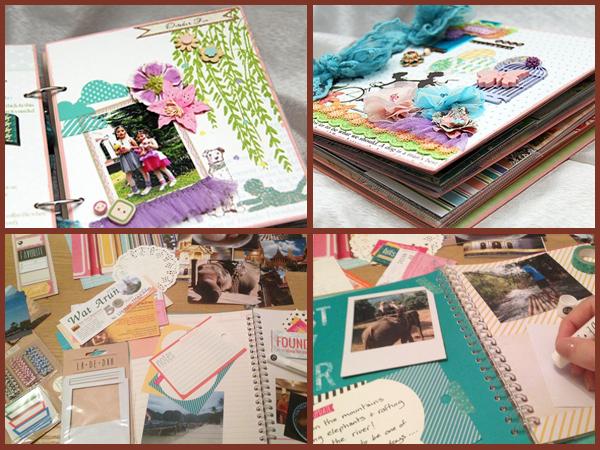 My first scrapbook diary Il Mondo di Naty